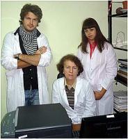 М.н.с. Аникаев А., вед. научн. сотр., к.б.н. Мейшвили Н.В., м.н.с. Аникаева Г.